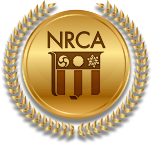 NRCA Gold Circle Award emblem winner